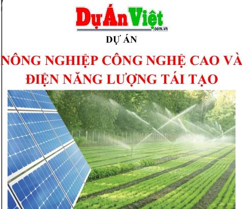 nông nghiệp công nghệ cao và điện năng lượng tái tạo tỉnh Bình Phước