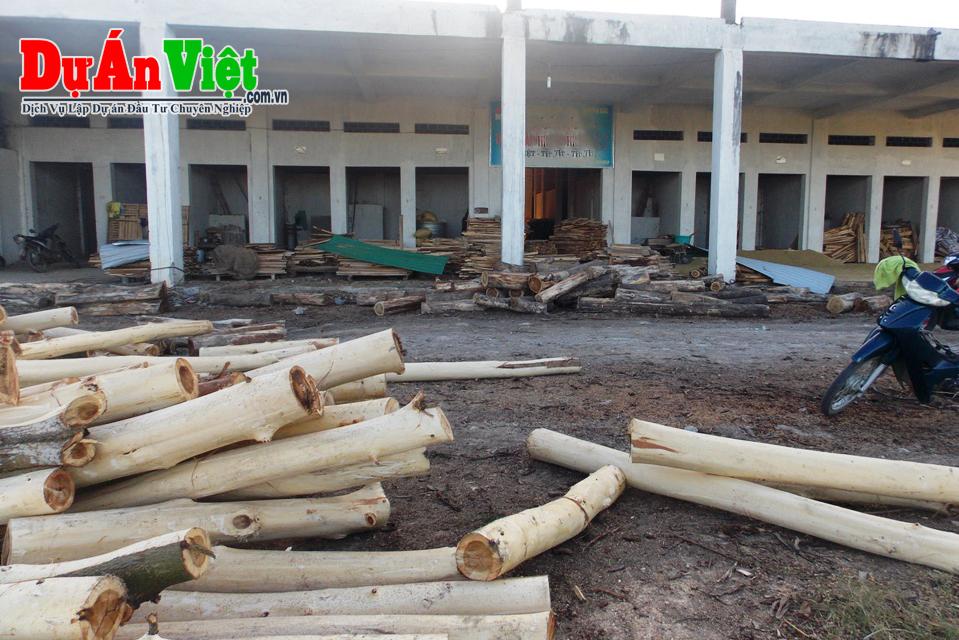 Lập dự án đầu tư cưa xẻ sấy gỗ sản xuất ván ép và viên nén gỗ