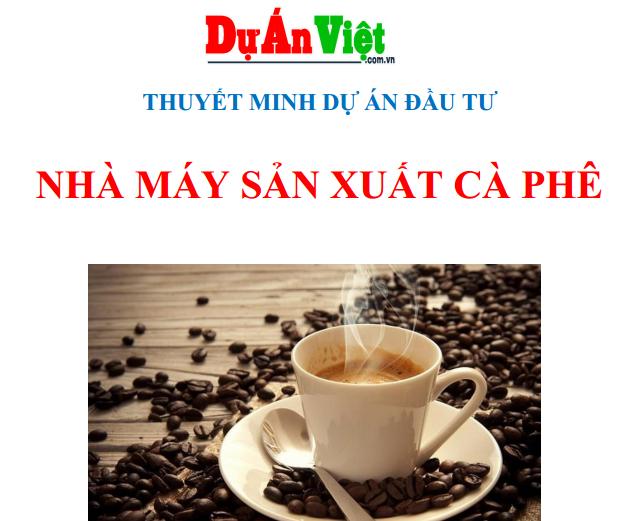 Nhà may sản xuất cà phê
