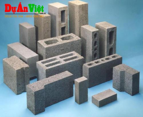 Dự án xây dựng nhà máy sản xuất gạch không nung