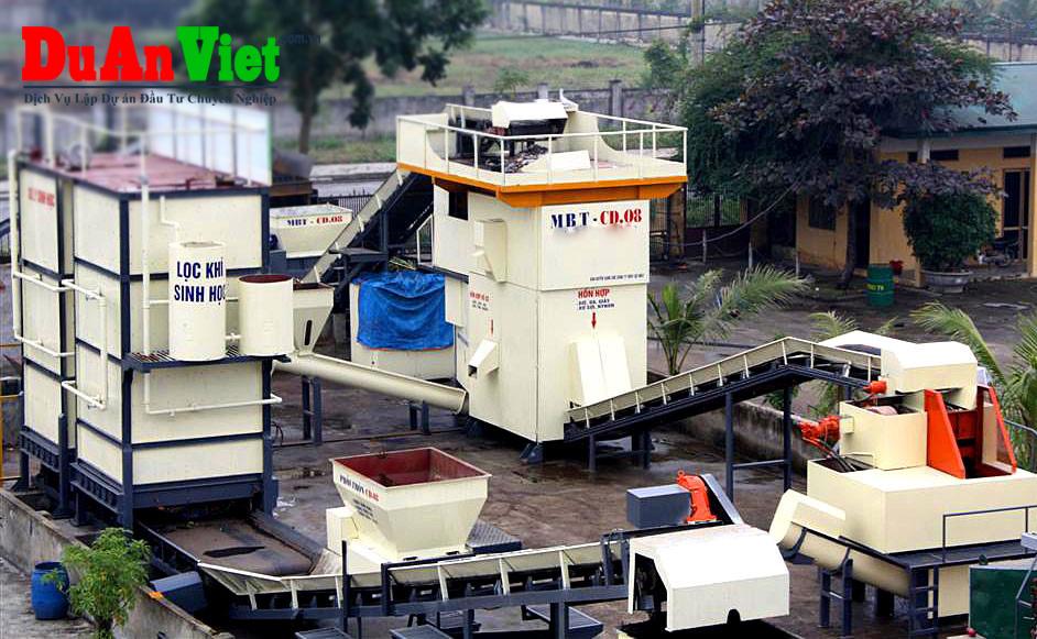 Dự án nhà máy xử lý rác thải tái chế phế liệu Nam Định