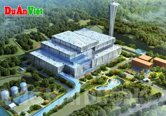 Dự án Xây dựng nhà máy xử lý rác