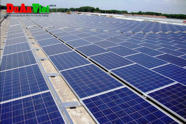 Trang trại điện mặt trời kết hợp NN công nghê cao và tham quan du lịch