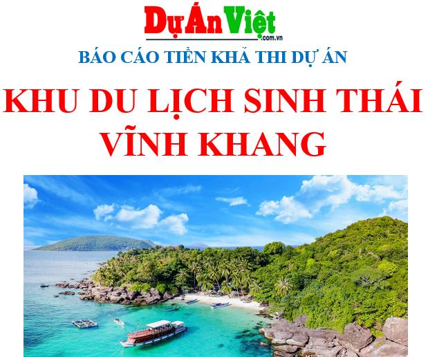 Dự án Khu du lịch sinh thái Vĩnh Khang