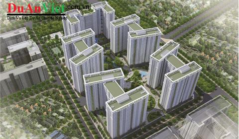 Dự án khu chung cư cao tầng kết hợp dịch vụ văn phòng Thủ Đức